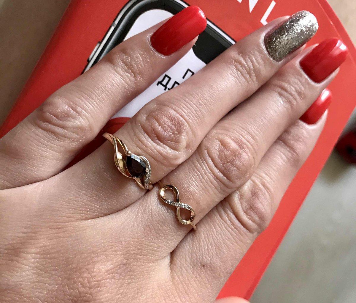 Нежное символичное кольцо 😍