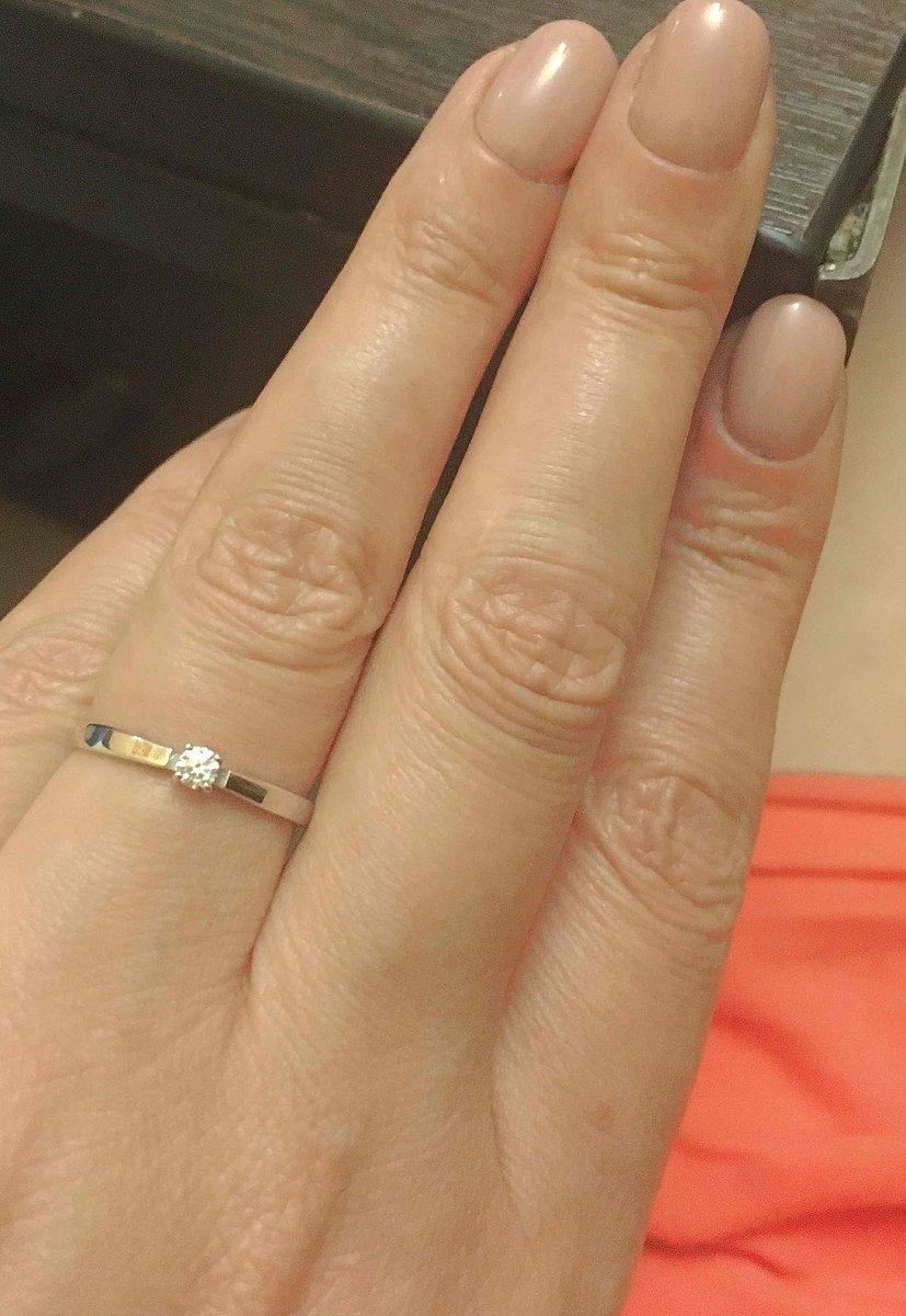 Кольцо приятно удивило