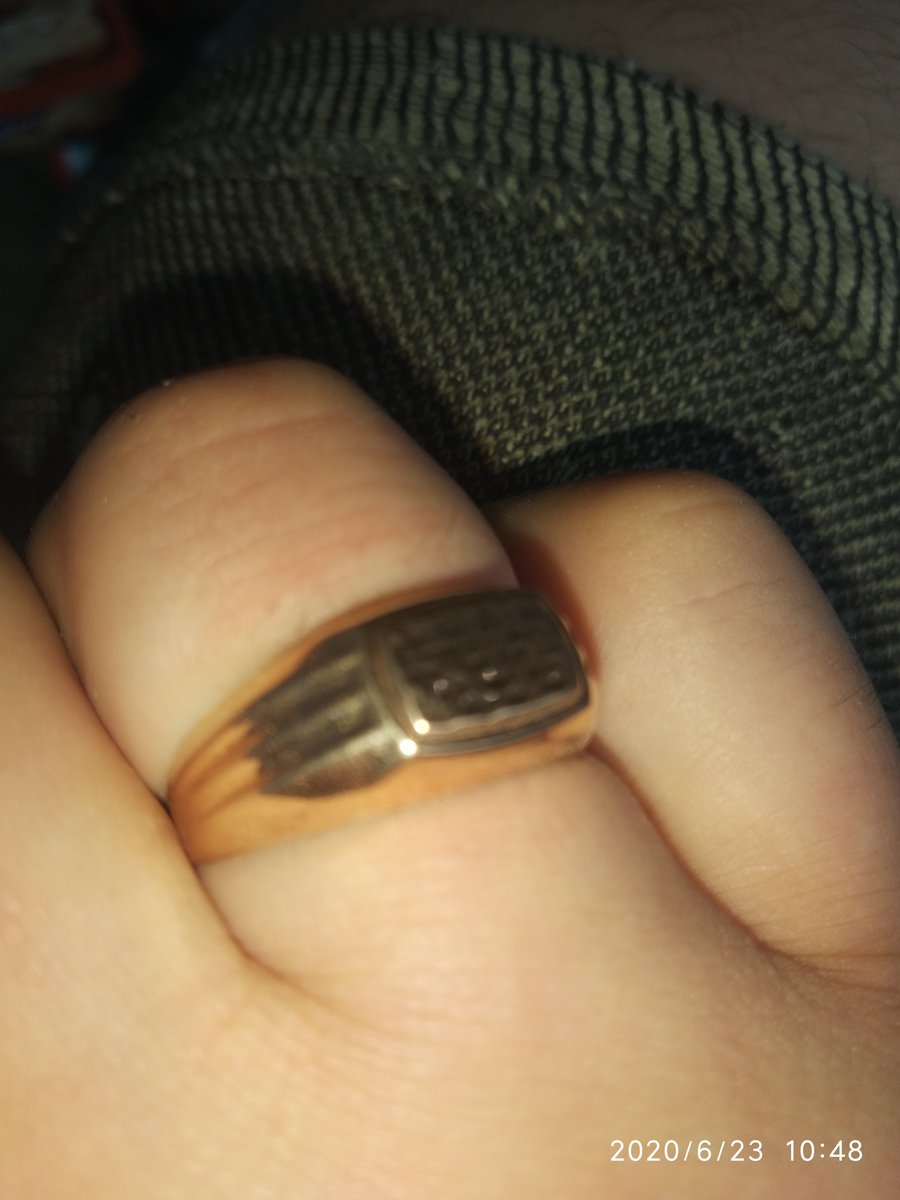 Кольцо хорошая