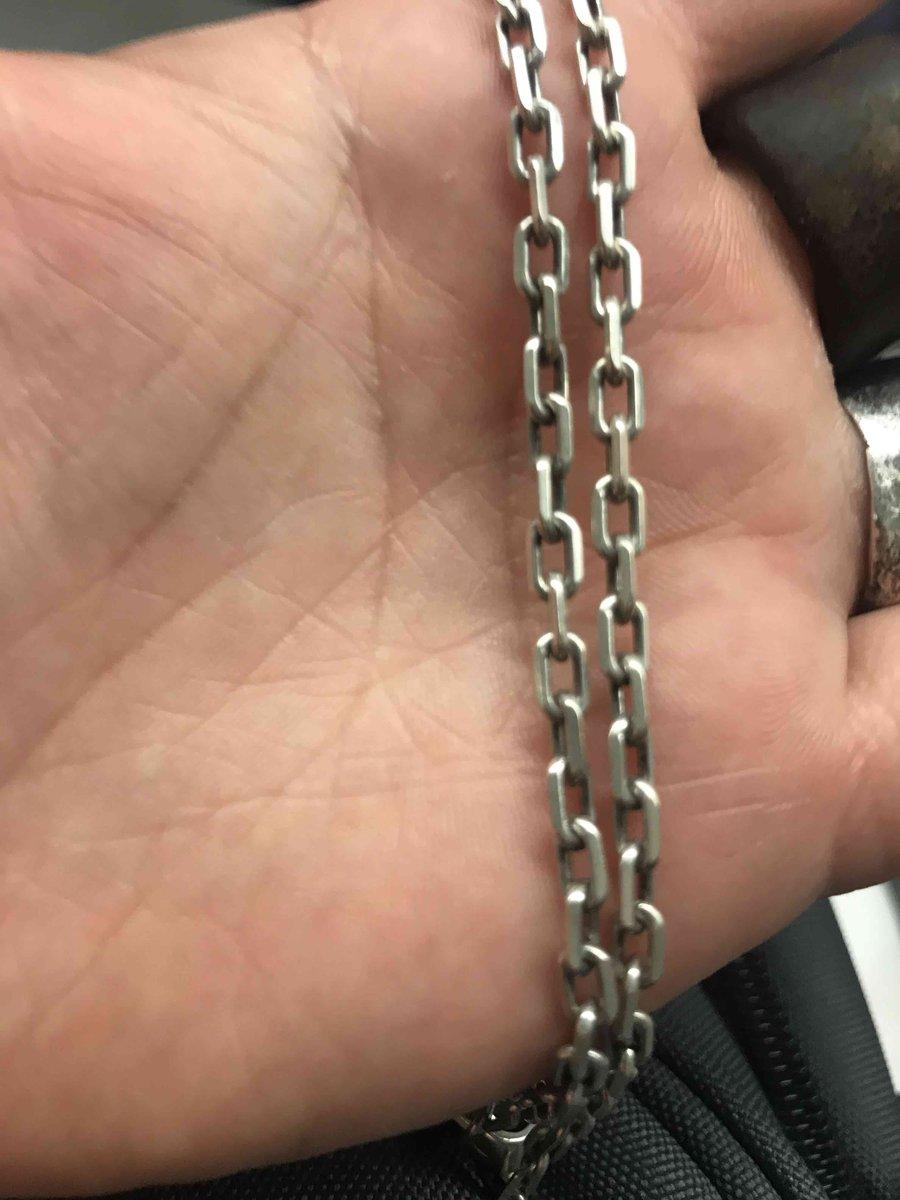 Очень стильная и необычная цепь