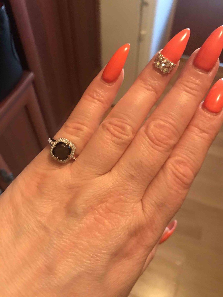 Кольцо с полудрагоценым камнем