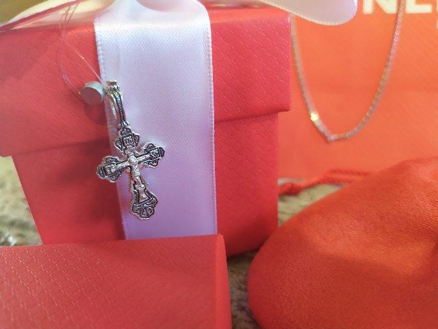 Крестик для внучки