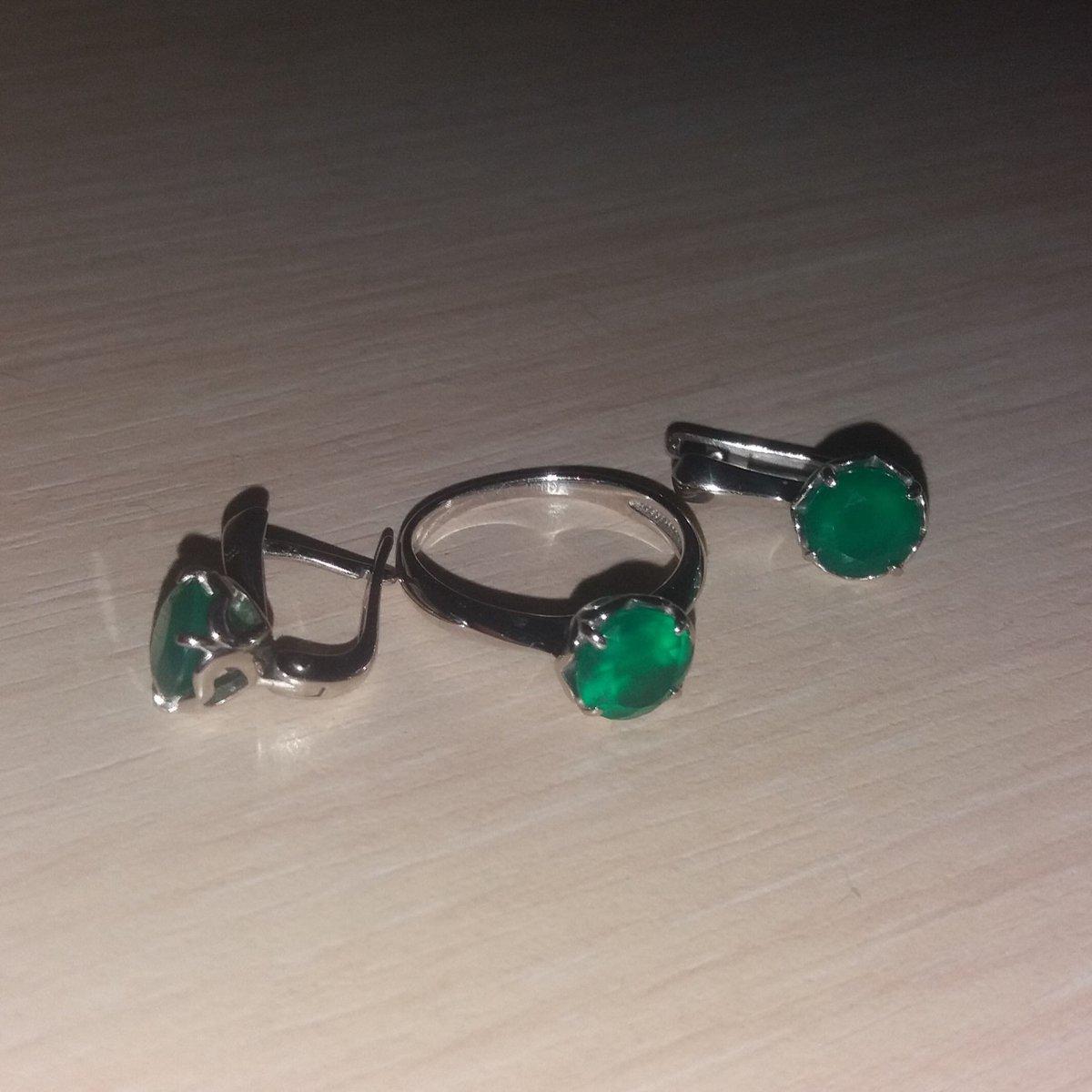 Кольцо в комплект к серьгам