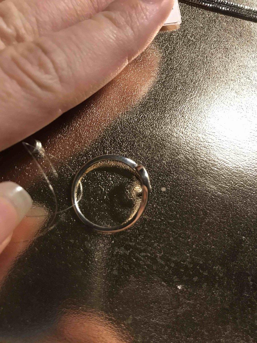 Тонкое легкое кольцо