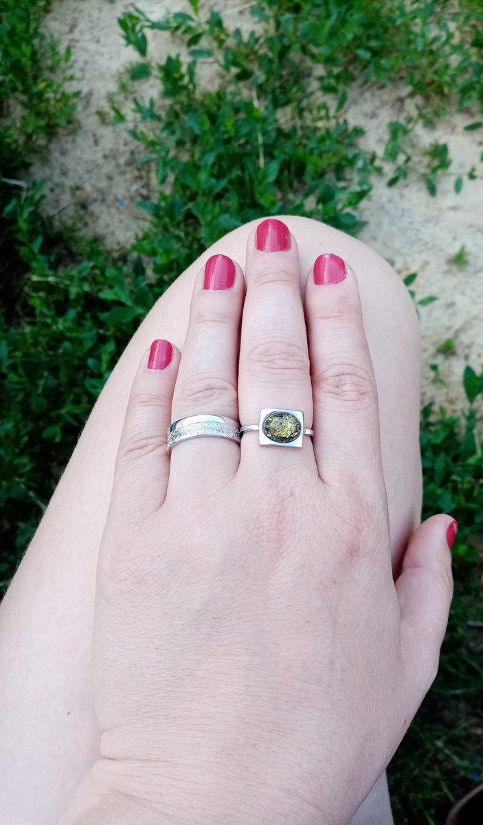 Кольцо любимого бренда Аквамарин.