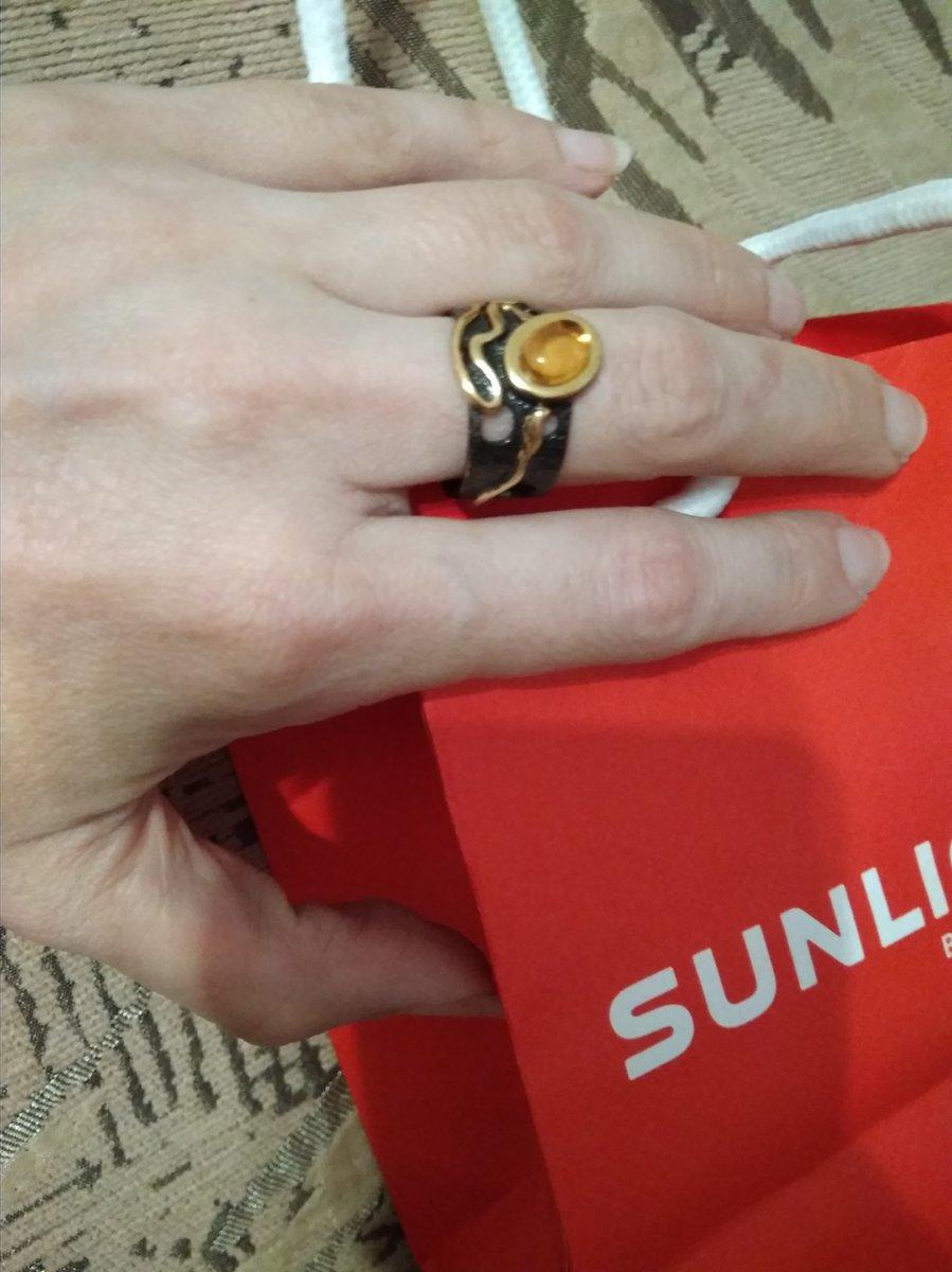 Кольцо из Балтийского золота