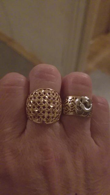 Кольцо золотой