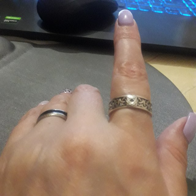 Очень довольна кольцом