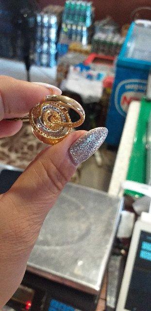 Крупное итальянское кольцо