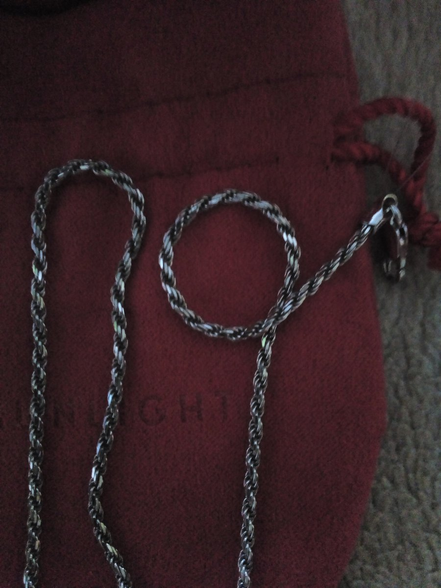 Серебряная цепочка Chrysos