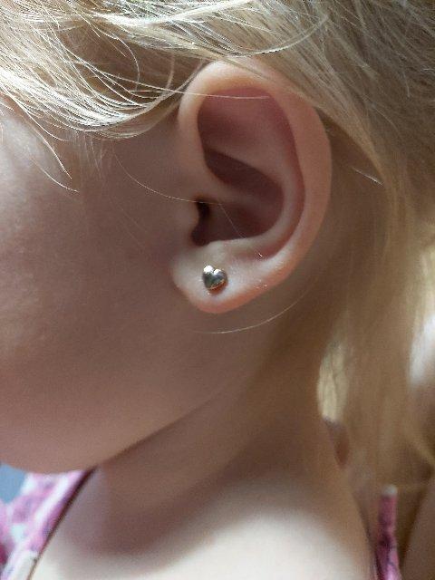 Сердечки с бриллиантами