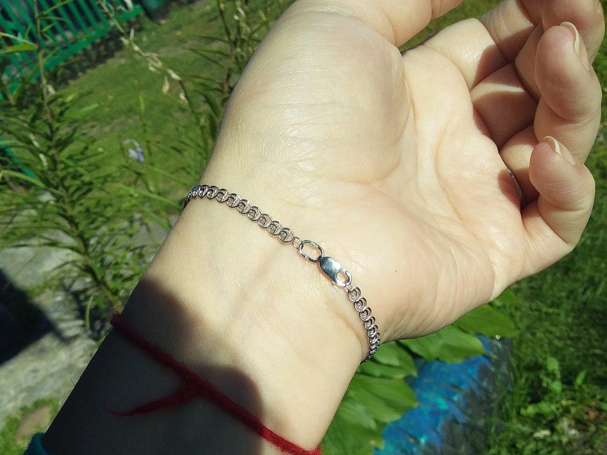 Красивый,не тонкий,браслет из серебра