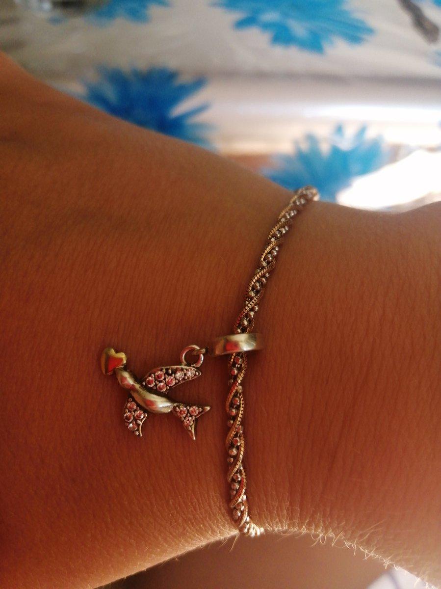 Подошёл к моему новому браслету идеально 😊