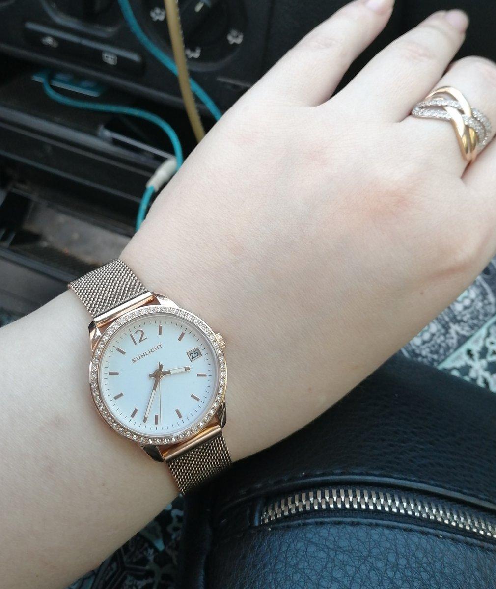 Впервые купила часы в SUNLIGHT, и не пожалела.