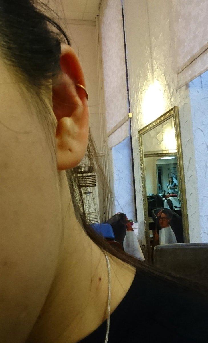 Золотая серьга для уха искала очень долго что то подобное