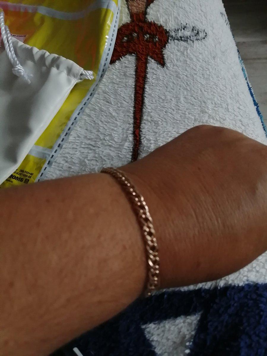 Серебряный браслет размер 20