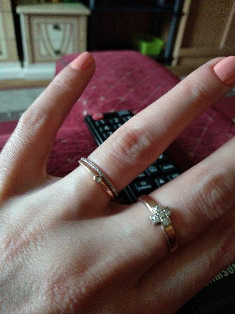 Колечко с бриллиантами