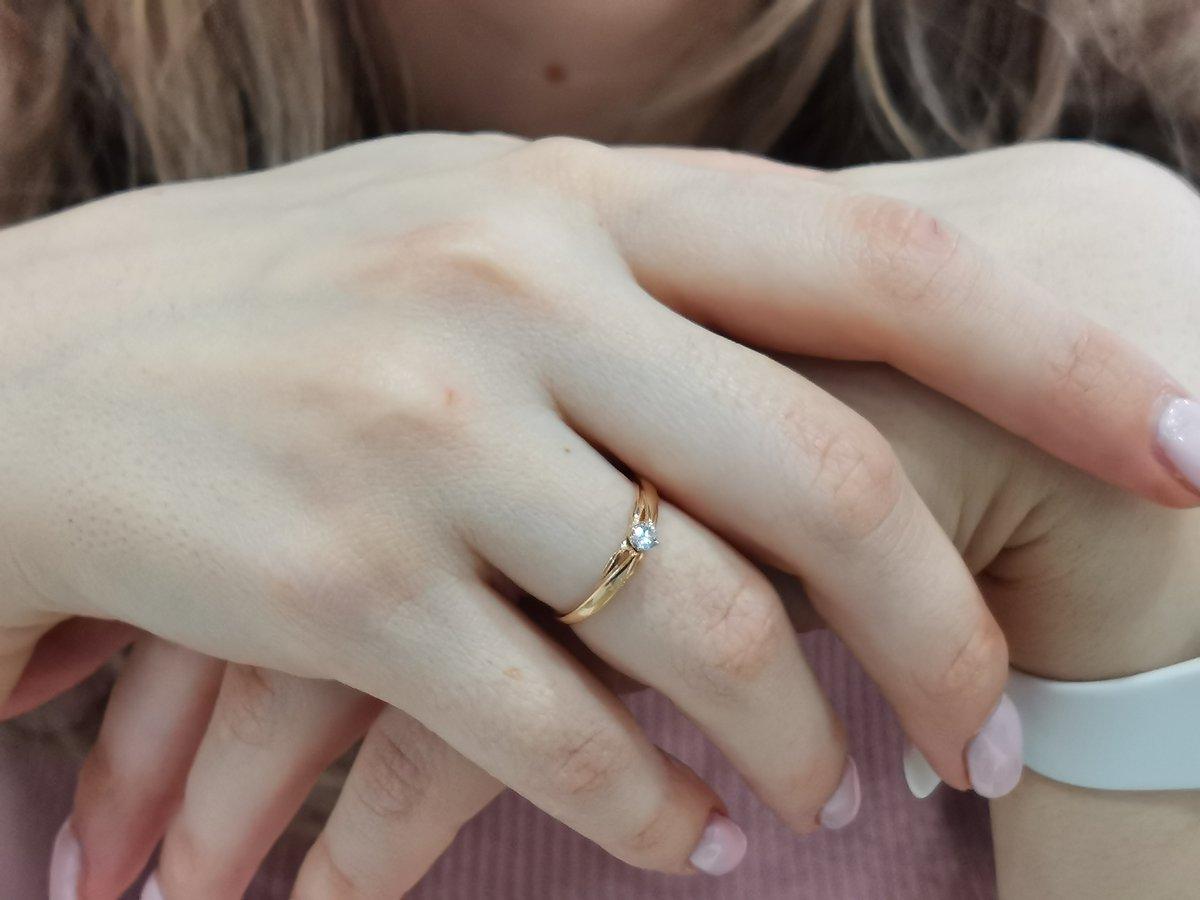 Отзыв короче про кольцо с камешком