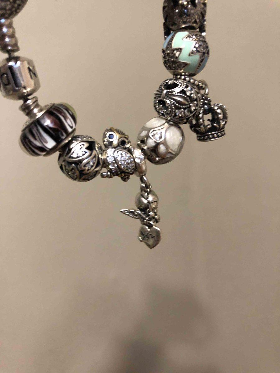 Серебрянная подвеска-шарм с фианитами