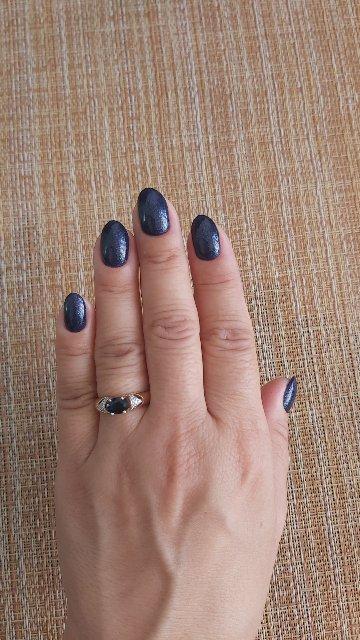 Кольцо с сапфиром натуральным