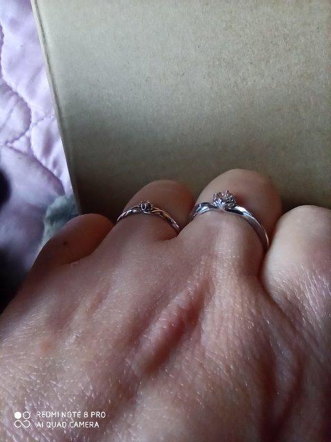 Алькор, бриллианты, серебро.