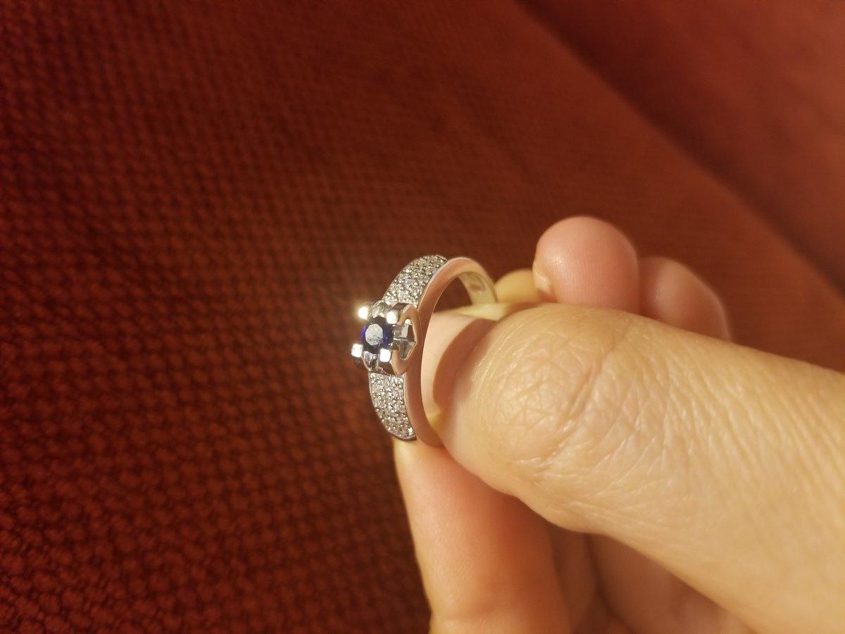 Получила на день рождения кольцо своей мечты!