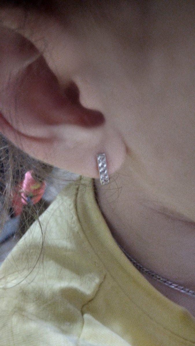 Серьги серебро для дочери.