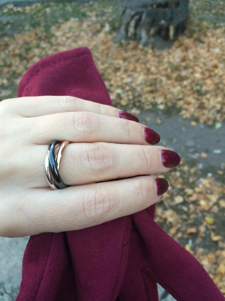 """Кольцо """"тринити"""" керамика, серебро."""