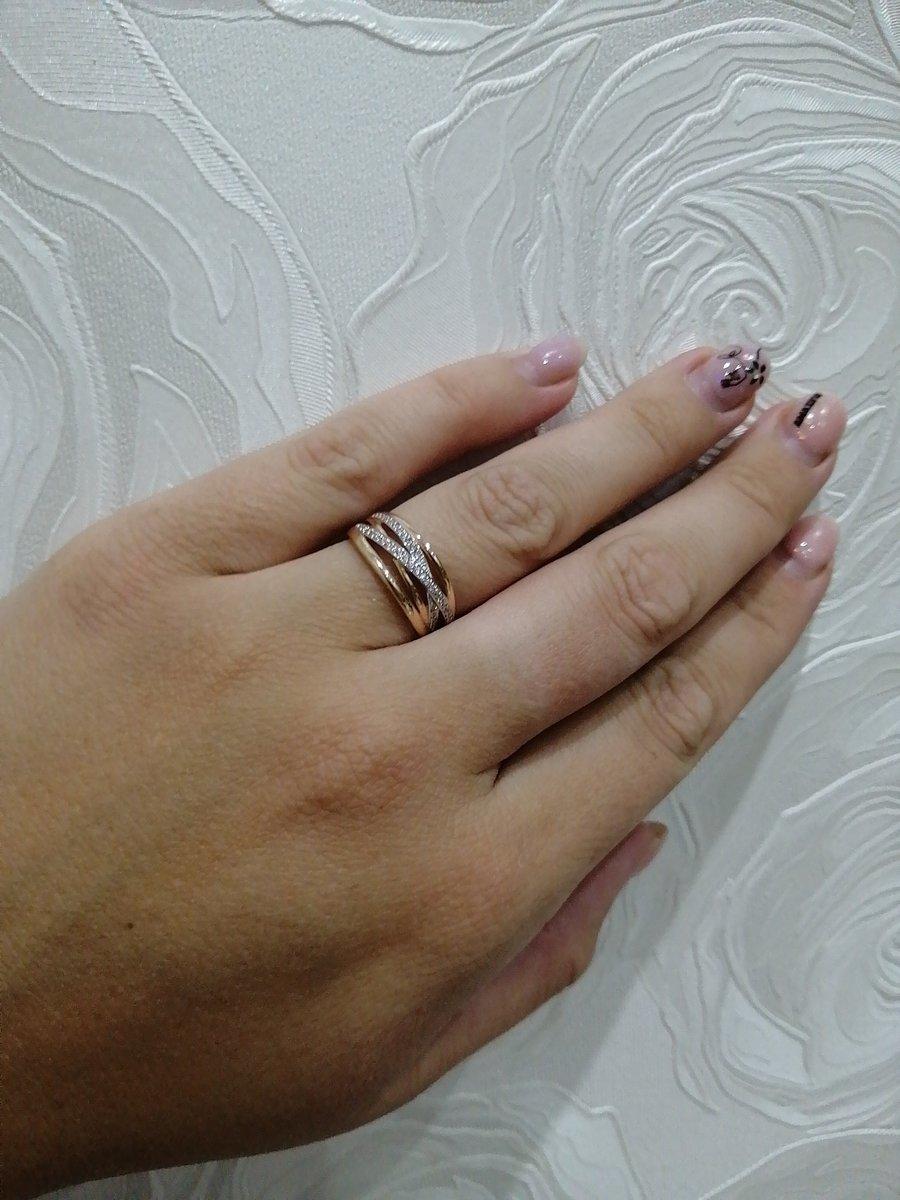 Кольцо в подарок дочке на день рождения.
