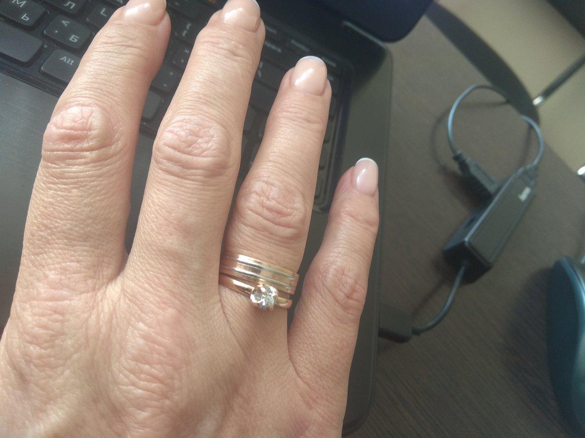 Очень приятное, сдержанное и элегантное кольцо