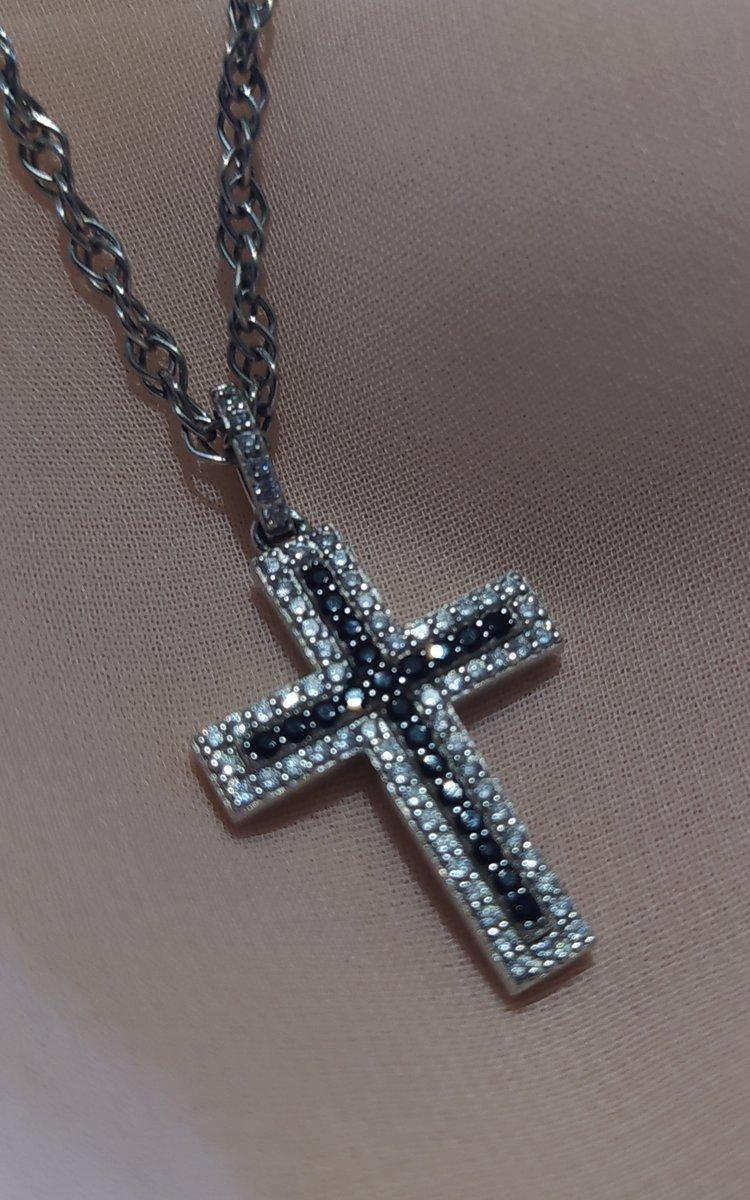 Блестящий крестик.