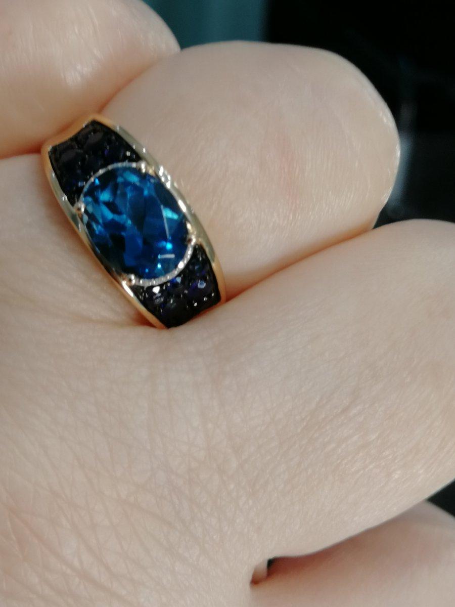 Королевский синий, супер кольцо