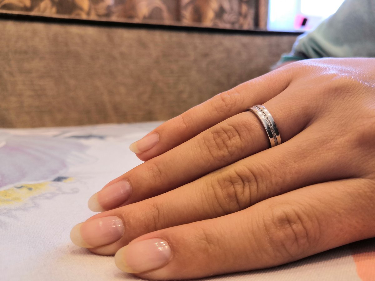 Прекрасное обручальное кольцо 😍