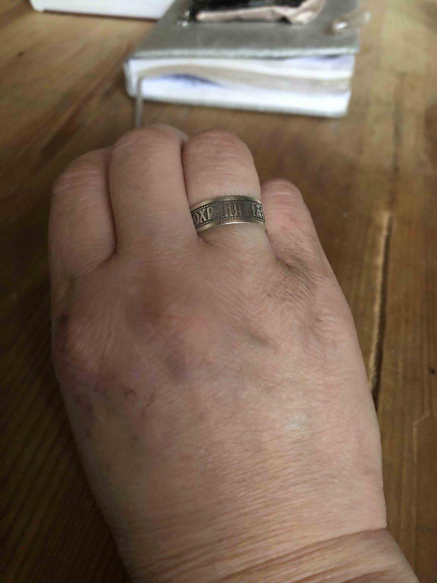 Кольцо с православной тематикой