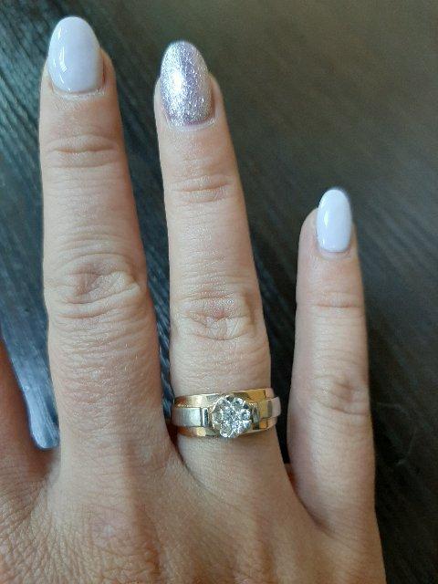 Очень красивое кольцо .