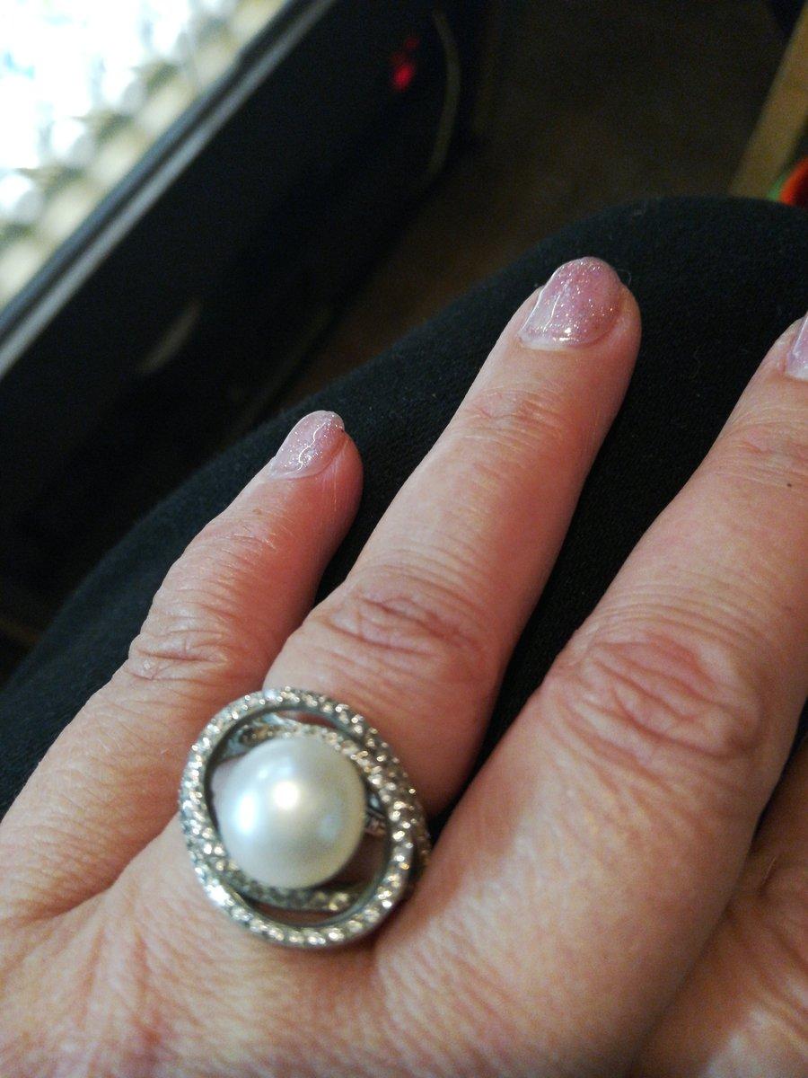 Серебро с жемчугом