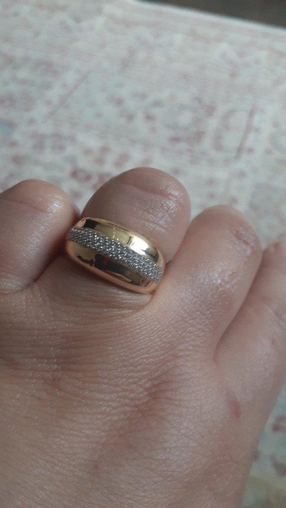 Шикарное кольцо,спасибо магазину, очень довольна покупкой