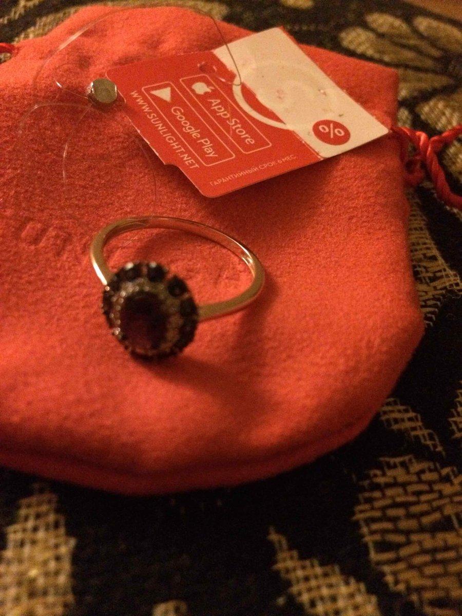 Сапфировый перстень с бриллиантиками.
