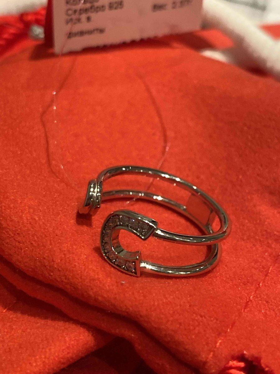 Кольцо- булавка