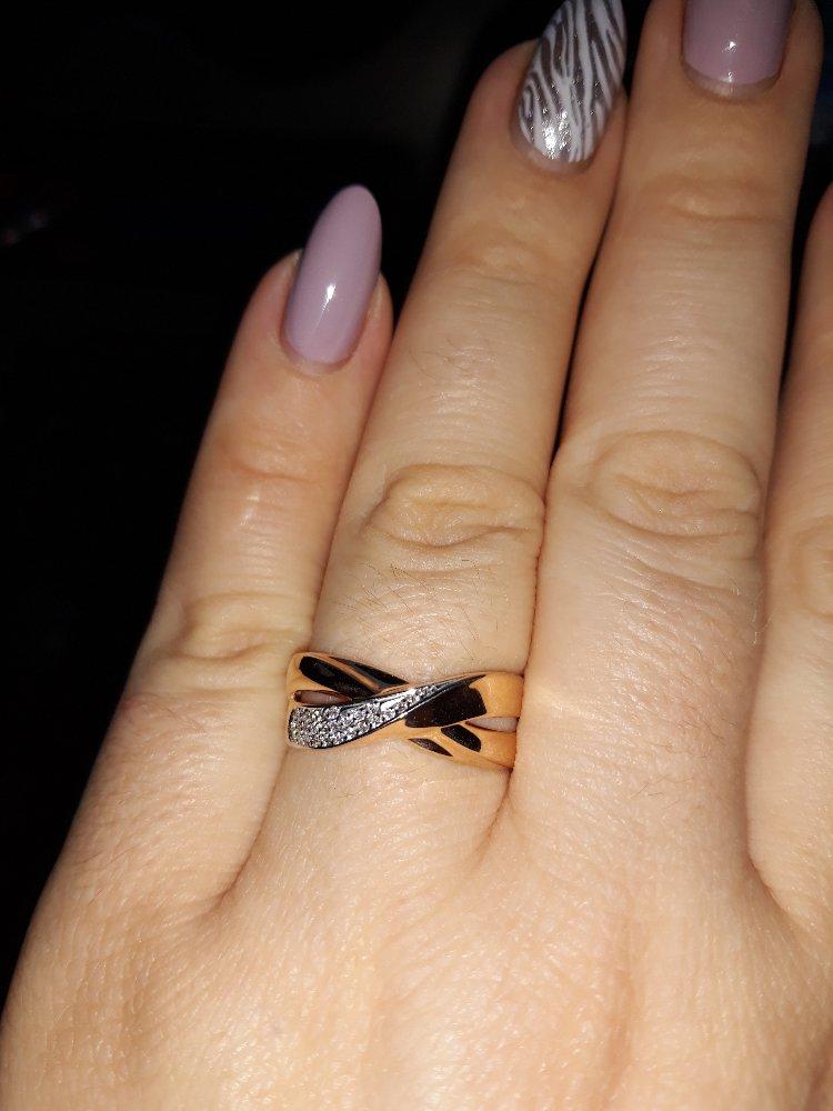 Кольцо из золота фирма соколов