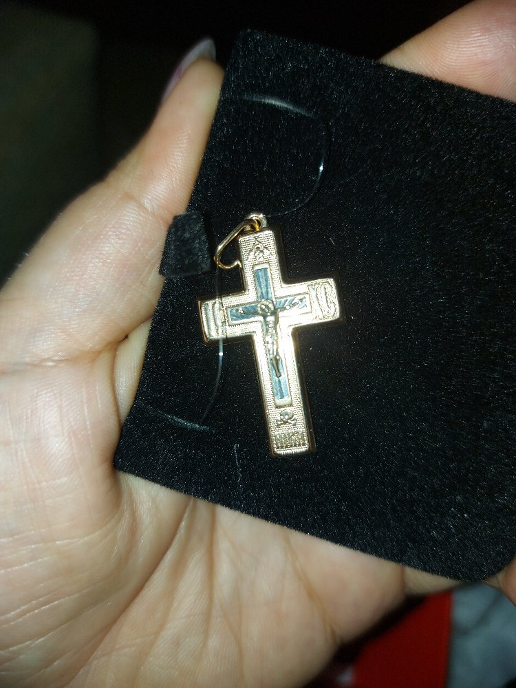 Крестильный крестик.