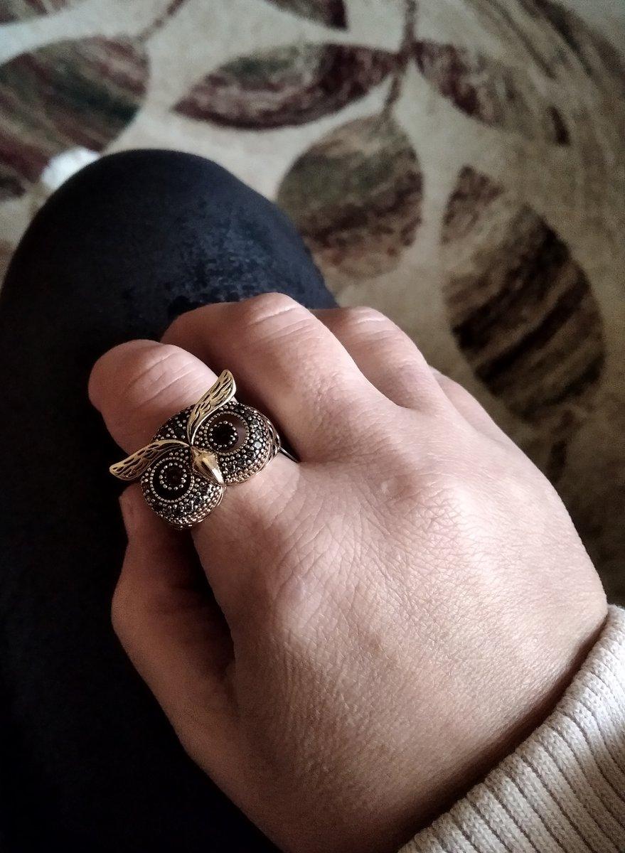 Кольцо - сова
