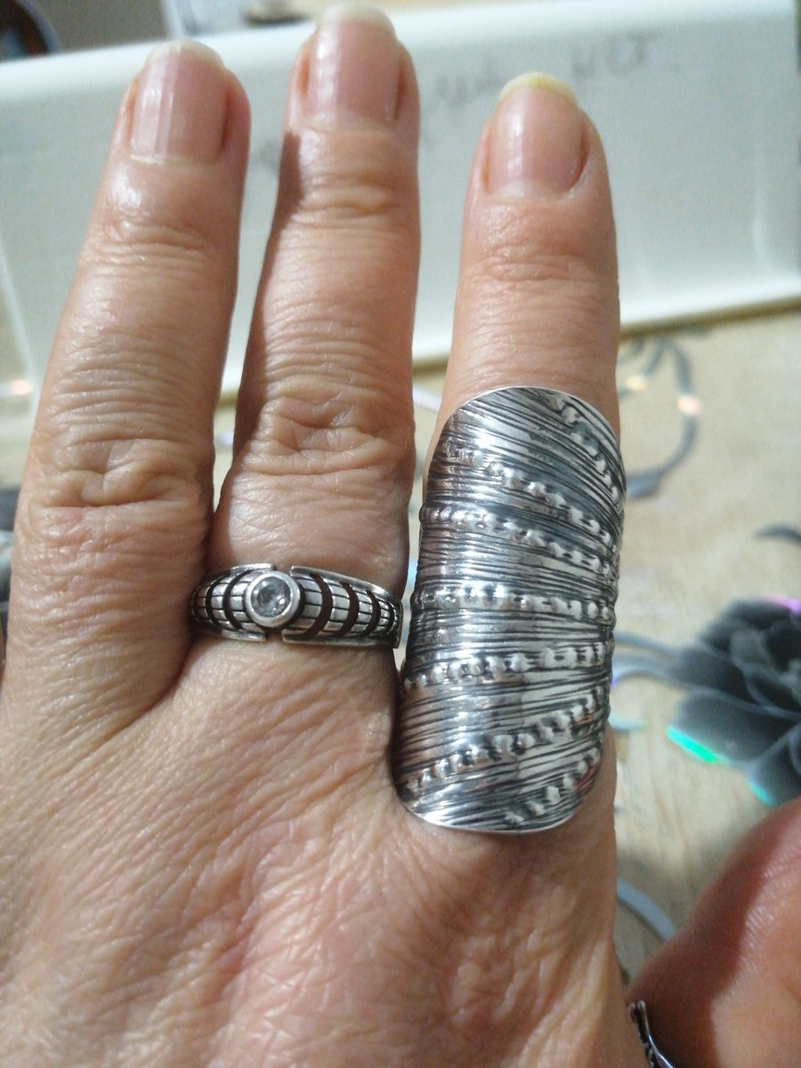 Серебренное этно кольцо