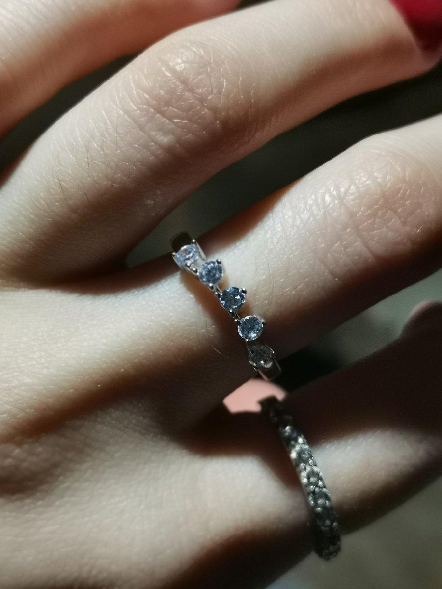 Красивое легкое кольцо