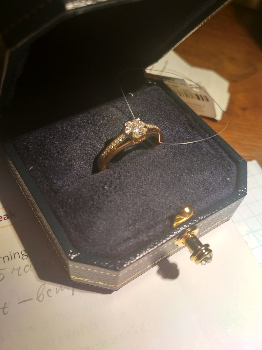 Отличное кольцо для предложения руки