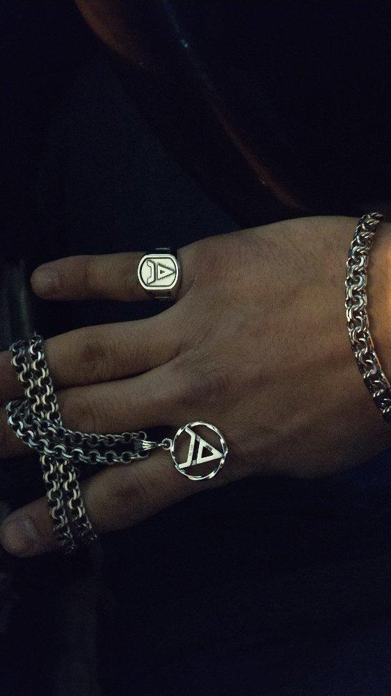 Браслет, кольцо, кулон