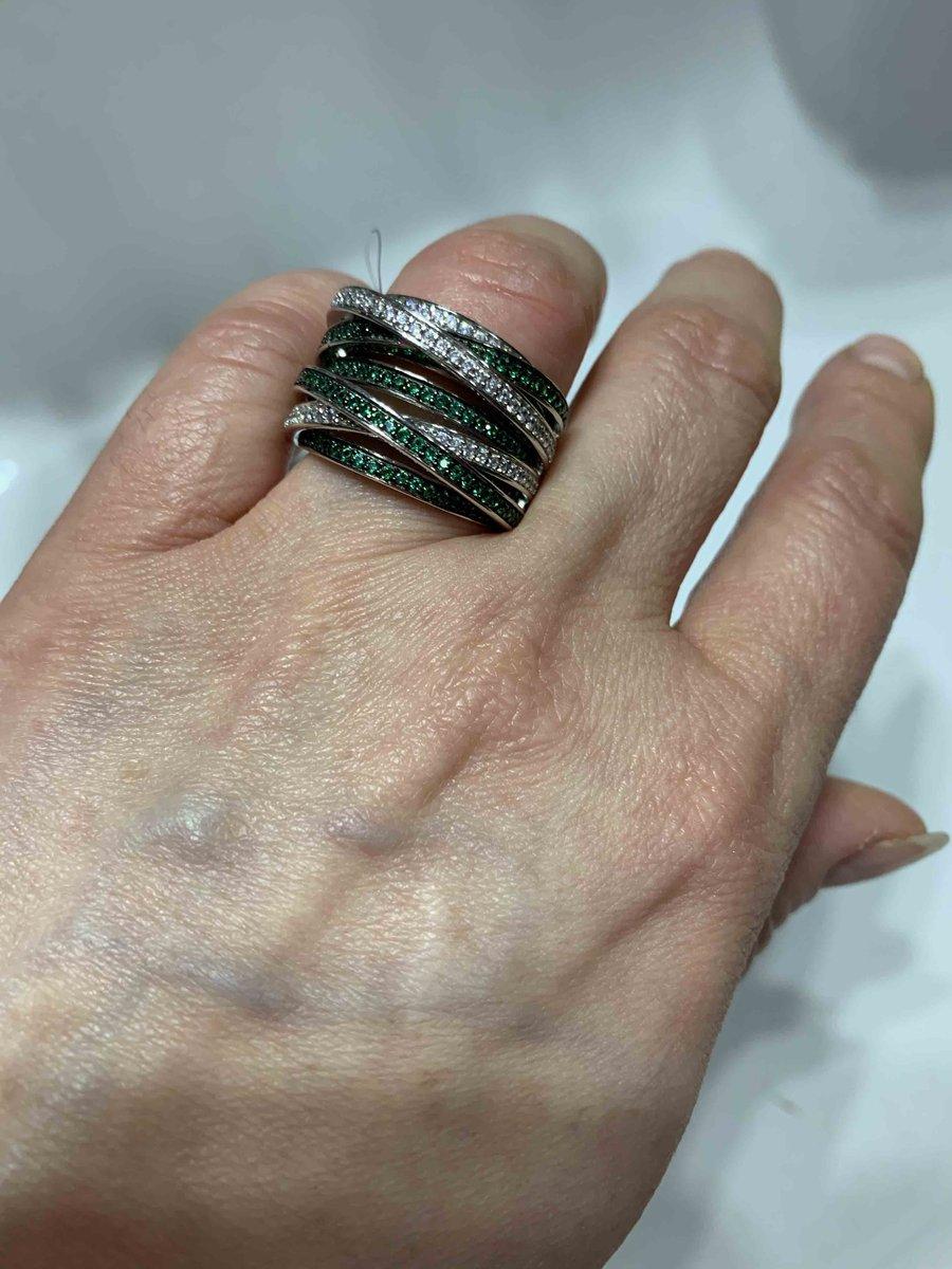 """Замечательное кольцо под легендарную молель allegra от «de grisogono"""""""