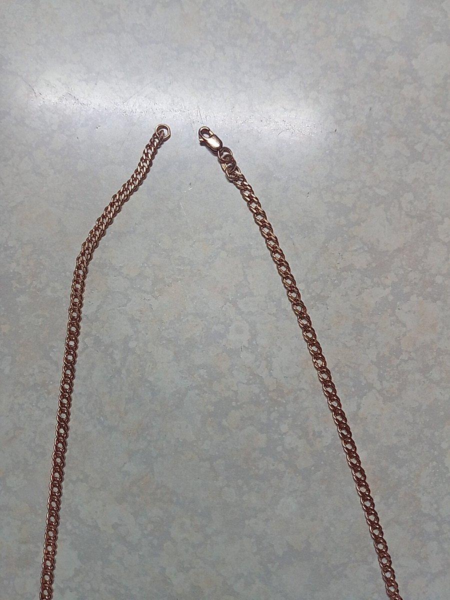 Замечательная цепь. оптимальная длина и толщина. для моей подвески подходит