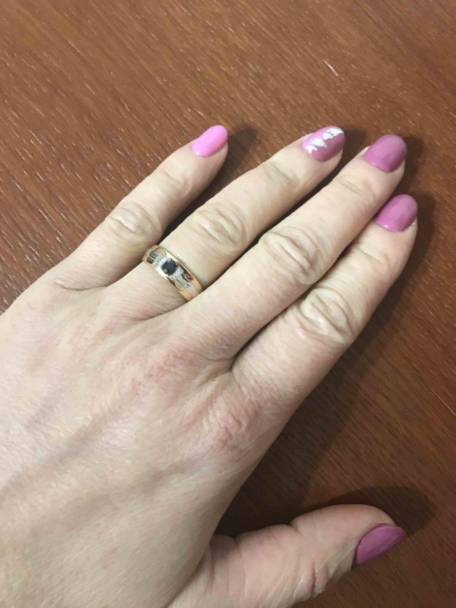 Кольцо очень понравилось, не мешает в перчатках, и очень стильно смотриться