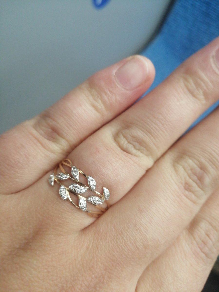Очень красивое кольцо, я просто в восторге